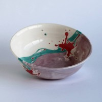 Pink side - serving bowl